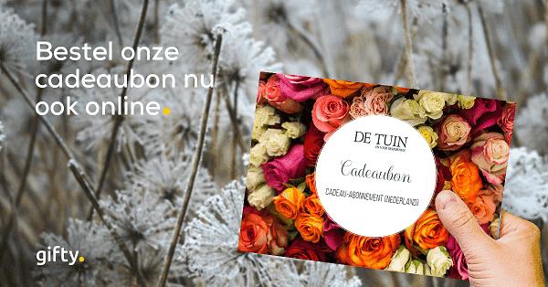 Cadeaubon De Tuin in vier seizoenen