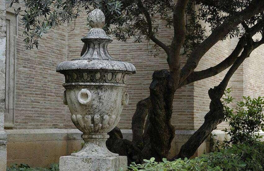 Olea-scheef-stam-vaas-ornament