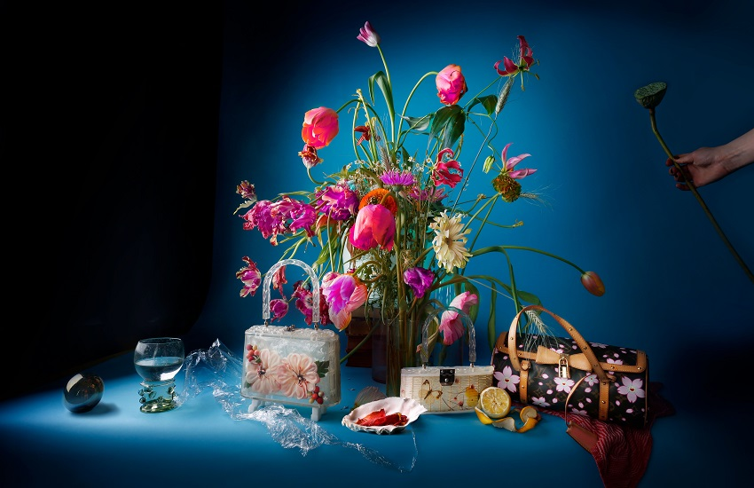 Tassenmuseum - Bags in Bloom - Louise te Poele - liggend