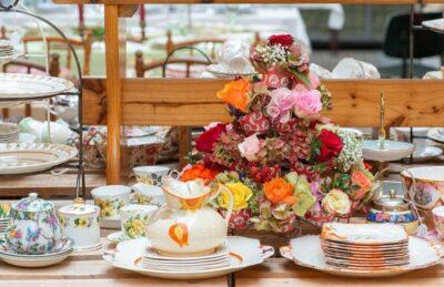 Tableware & Flowers Boschhoeve