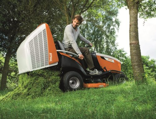 STIHL optimaliseert zitmaaiers