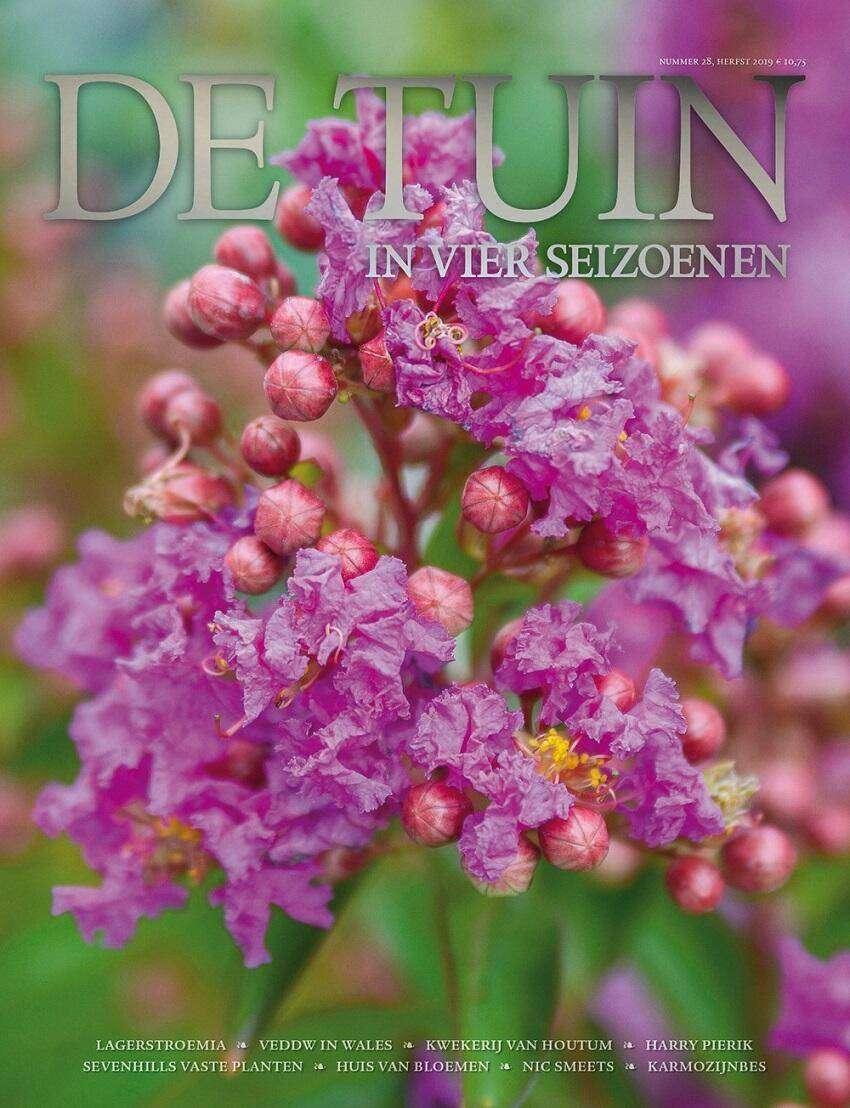 Cover De Tuin in vier seizoenen 28
