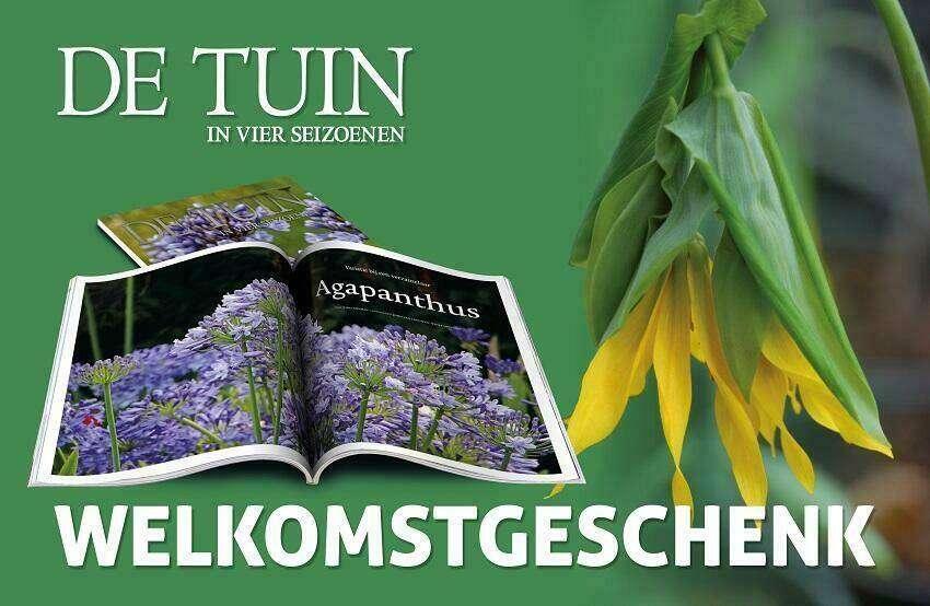 Welkomstgeschenk bij abonnement De Tuin in vier seizoenen