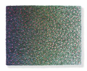 Zhuang Hong Yi - Flowerbed Colorchange (2018), 120x150cm - Courtesy SmithDavidson Gallery