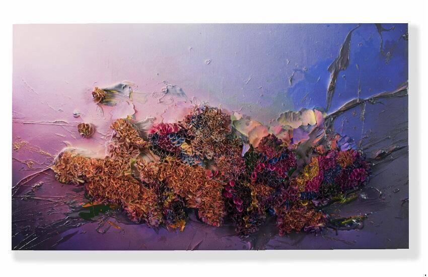 Zhuang Hong Yi - Landscape (2019), 120x210 cm - Courtesy SmithDavidson Gallery