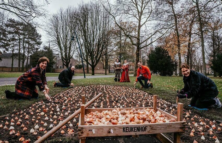 Keukenhof plant en Breda Marketing en VisitBrabant