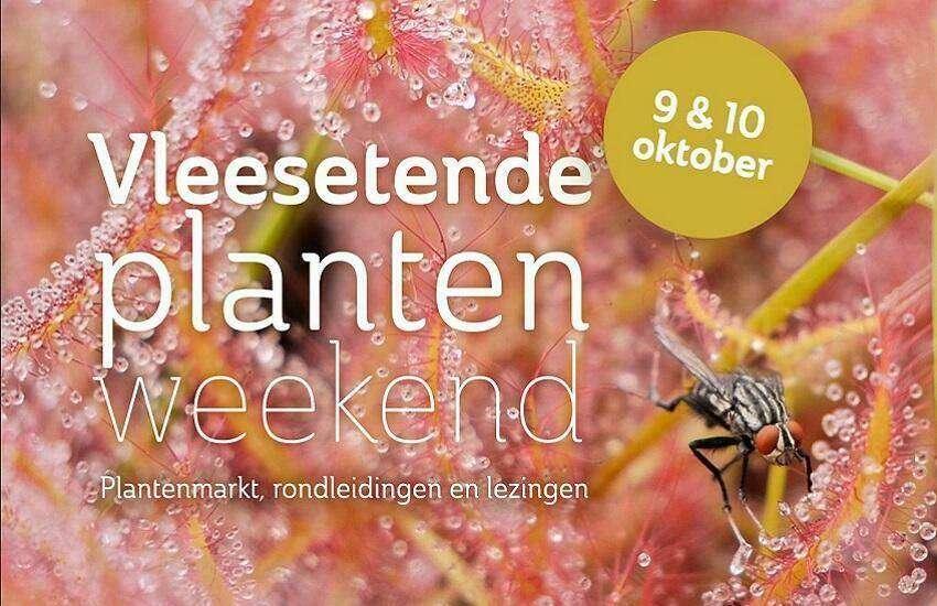 Vleesetende Planten Weekend Hortus Leiden
